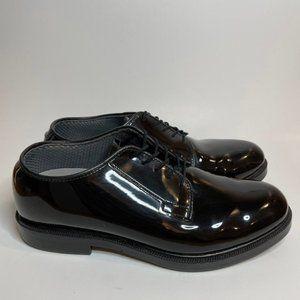 Bates Patent Leather Slip Resistant Shoes